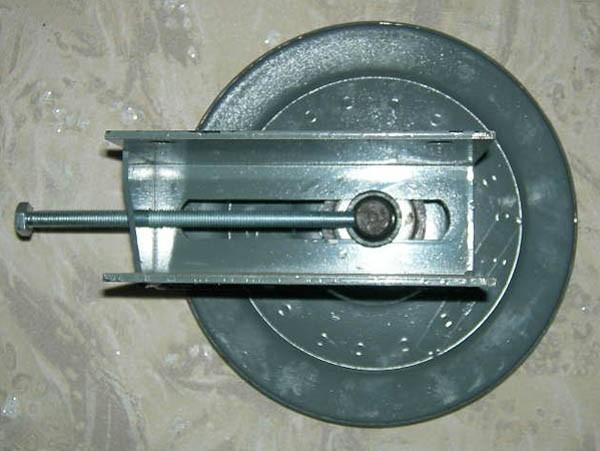 Шкив натяжной привода ножа (Acros torum вектор дон-1500б)