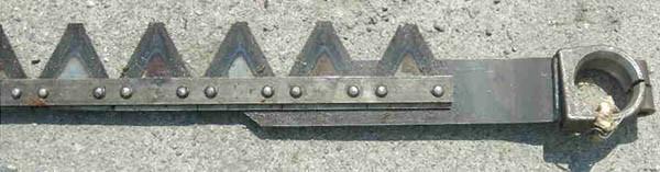 Нож (для жатки 6 м) (Acros torum вектор дон-1500б)
