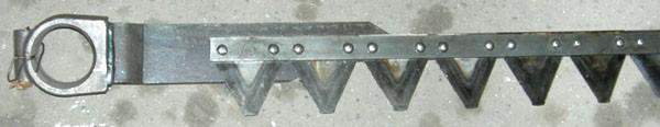 Нож (для жатки 7 м) (Acros torum вектор дон-1500б)