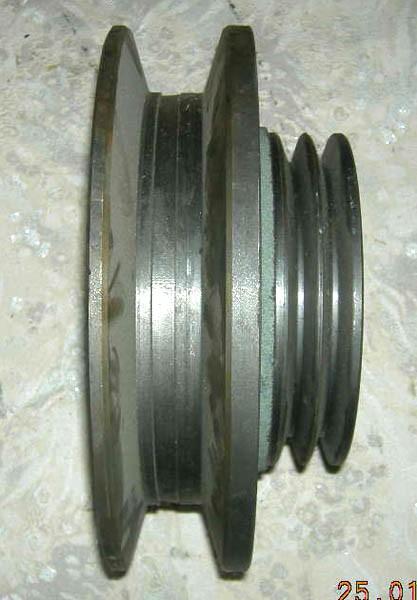 Шкив привода х/части смд-21 (2-х руч. вентилятора)