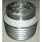 Шкив двигателя привода рабочих органов 6-ти ручьевой ? 250 мм